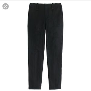 NWOT J. Crew Garden Pant in Black